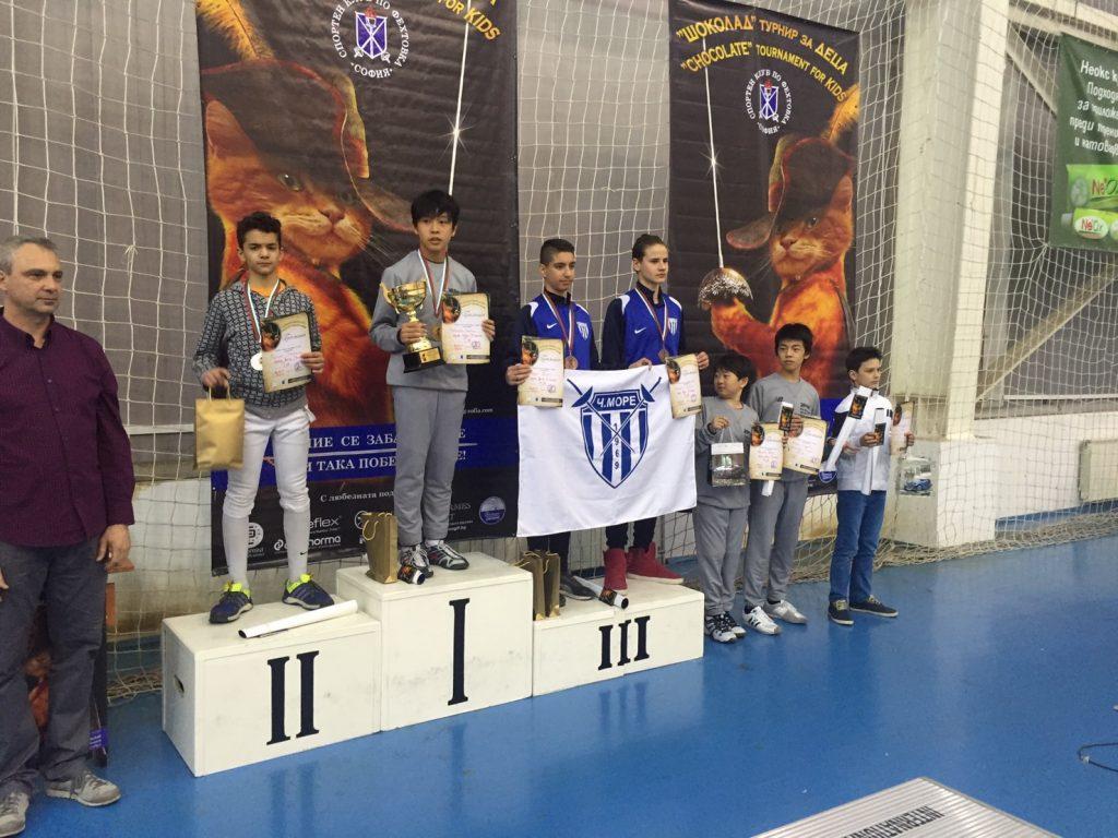 2017フェンシングU14欧州サーキット ブルガリア大会