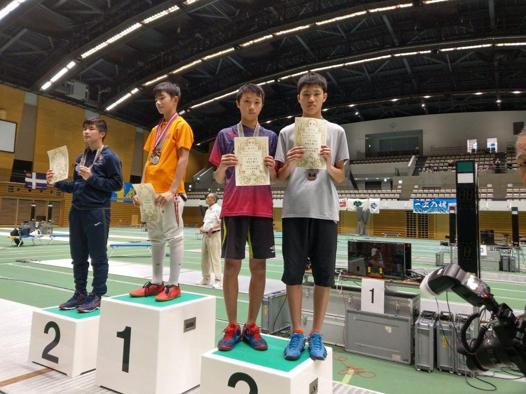 2019年全国中学生選手権大会